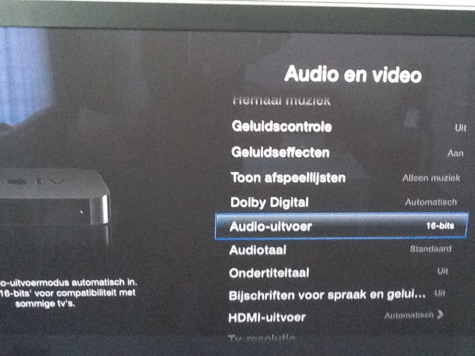 AppleTV Audio Fix